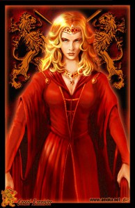 Queen Cersei by Amok