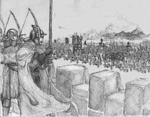 The Siege of Gondor by Nathanael L. Wetjen
