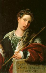 Salome by Moretto da Brescia (late 1530s)