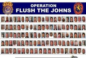 flush the johns
