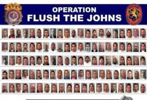 flush the johns