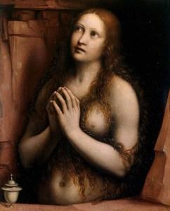 Repentant Mary Magdalene by Giampietrino (c 1525)