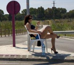 street lounger