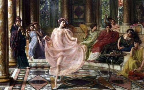 The Ionian Dance by Sir Edward John Poynter (1895)
