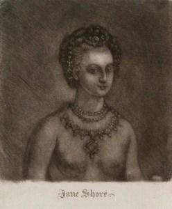 Jane Shore (18th century engraving)