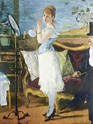 Nana by Edouard Manet (1877)