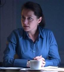 Sidse Babett Knudsen as fictional Danish Prime Minister Birgitte Nyborg in Borgen