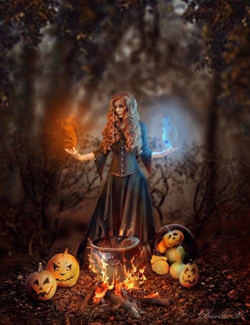 Halloween Witch 3 by Darla V (2014)