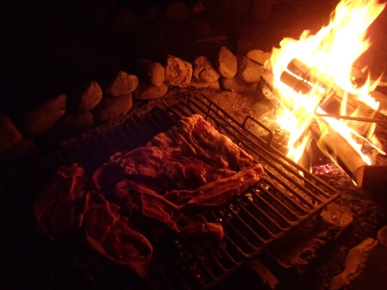 Delicious Argentinean BBQ called asado