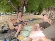 Music, mate and good times chillin on the island