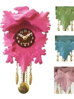 "This one from <a title=""MyGermanStore.com"" href=""http://www.mygermanstore.com/Cuckoo-clocks/Cuckoo-clock-modern/Kuckulino-Black-Forest-Clock-with-cuckoo-"