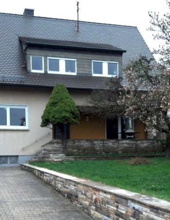 Our house in Heilsbronn, Germany