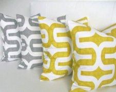4. Throw Pillow Set