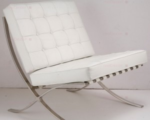 Barcelon Chair replica in White at MoDecor