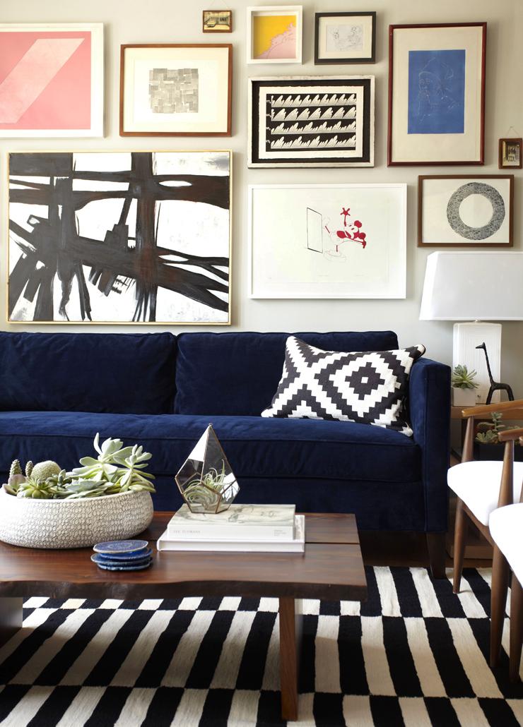 Feeling Blue Sofas