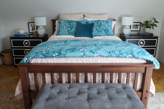 Master Bedroom Bedding Update
