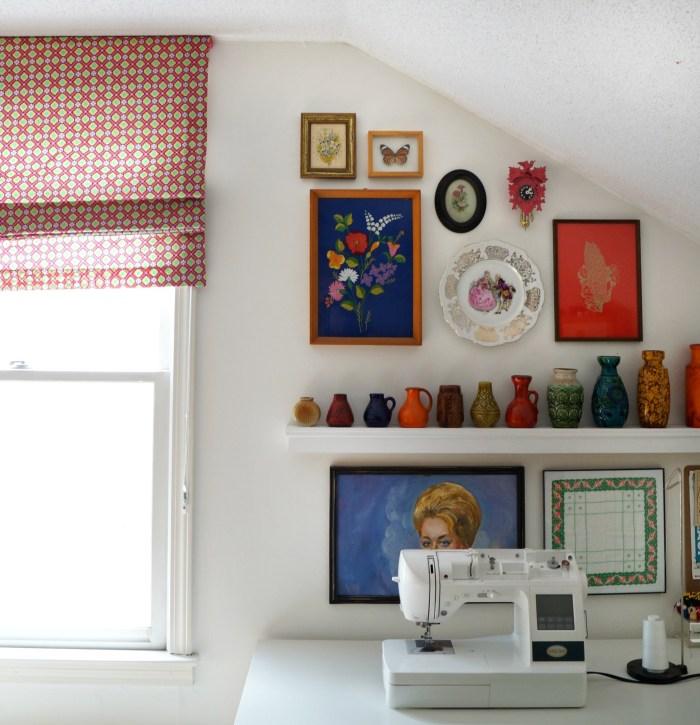 One Room Challenge – Week Six, Studio/ Sewing Room Reveal