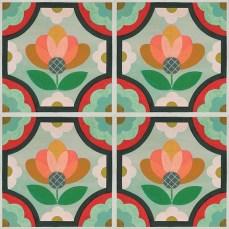Peel+&+Stick+Blossom+Vinyl+Tile+(24x24)