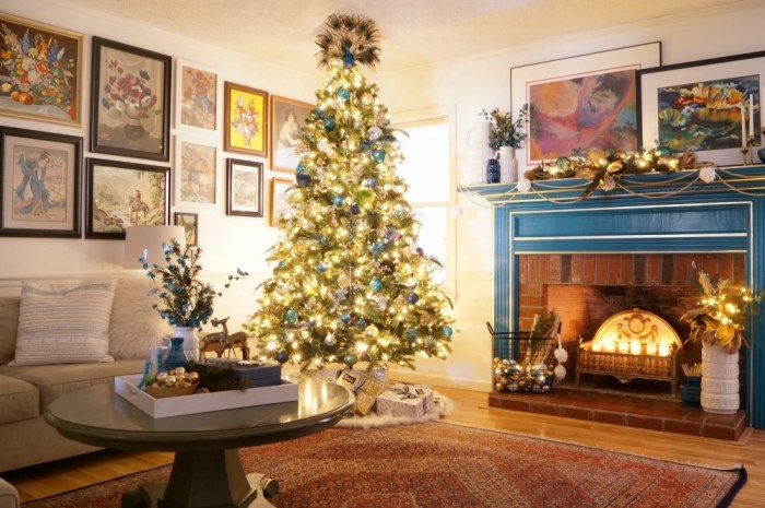 Eclectic Interiors Winter Holiday Home Tour 2016