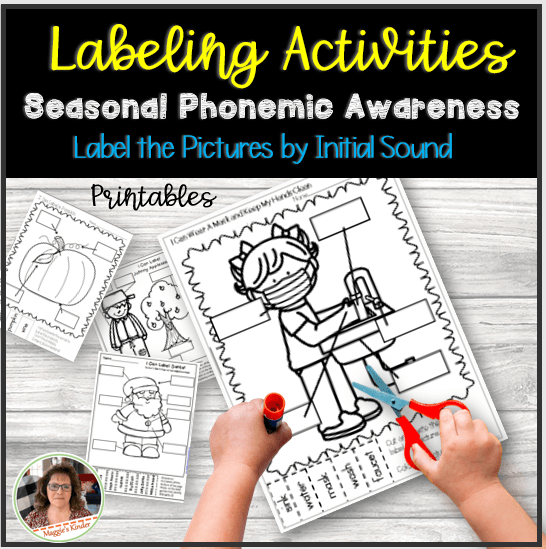 Literacy Activities for seasons and safety