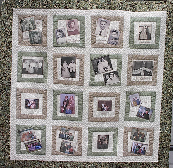 Memory Quilt Pictures