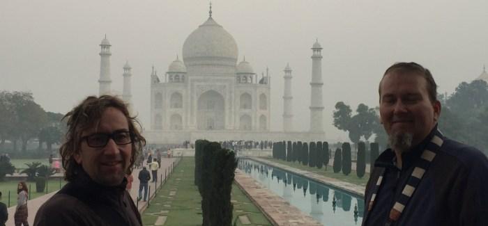Zwischenlandung Delhi und Taj Mahal