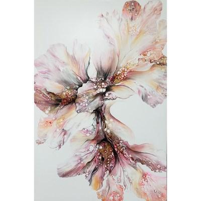 Original art work handprints Maggie Ziegler Art and Design Art Alchemy Courtenay BC