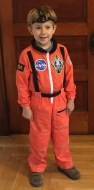 Halloween Costume for my son Lucas.