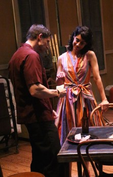 Faux wrap dress. Stella. A Streetcar Named Desire. Williams's Street Rep. Designer: myself.