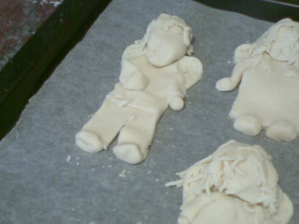 Salt dough angels  (3/6)