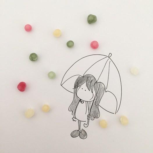 E' una pioggia di dolore