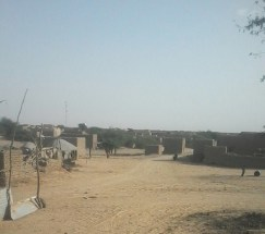 Village Ber, Timbuktu Region, Mali. Source: Maghreb and Sahel Blog.