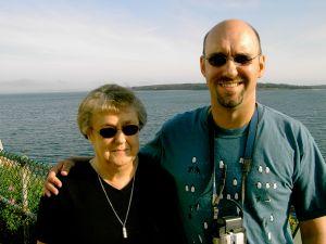 Arlene J. Toler and her son Michael