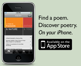 Poetry Foundation iPhone app