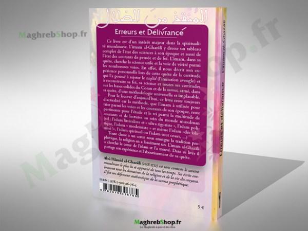 Livre : Erreurs et délivrance