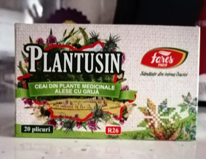Plantusin ceai
