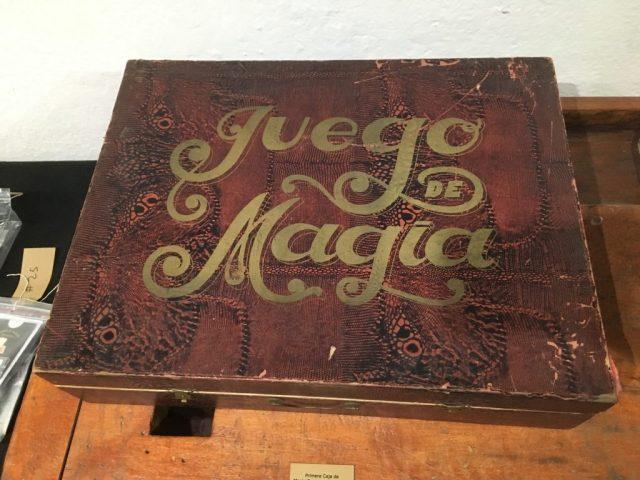 caja de magia antigua