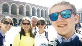 Verona selfie!