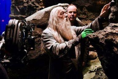 dumbledore detras de camaras
