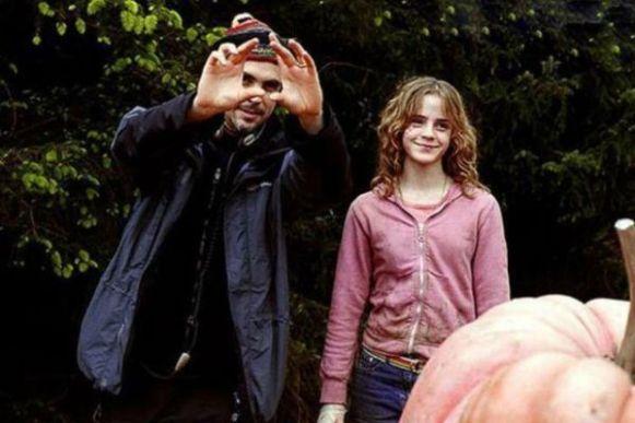 hermione detras de camaras