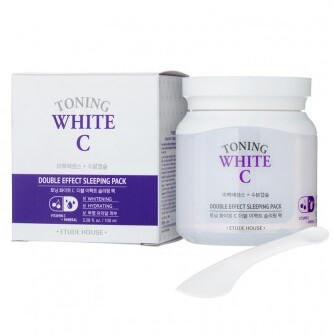 ETUDE HOUSE Toning white C double effect sleeping pack1