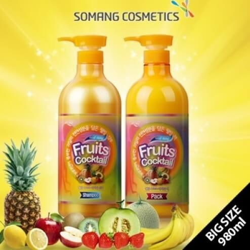 Incus Fruits Cocktail shampoo & Pack