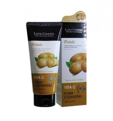 LOVE CINEMA Potato Vita C Foam Cleansing