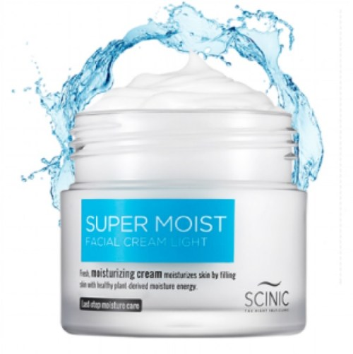 SCINIC SUPER MOIST FACIAL CREAM LIGHT