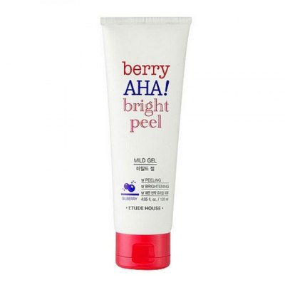 Пилинг-гель с АНА кислотами Etude House Berry AHA Bright Peel Mild Gel