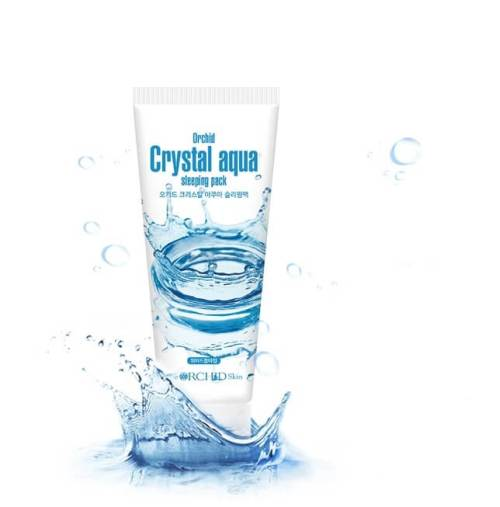 Crystal Aqua Sleeping Pack
