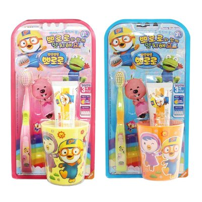 PORORO KIDS TOOTHBRUSH SET