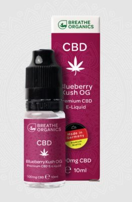 Breathe Organics - Blueberry Kush OG CBD E-Liquid 7