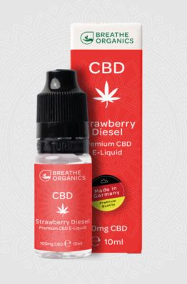 Breathe Organics - Strawberry Diesel CBD E-Liquid 9