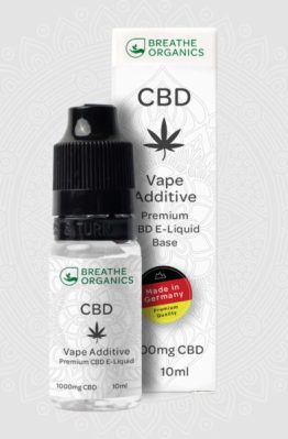 Breathe Organics - Base Vape Additive CBD E-Liquid 5
